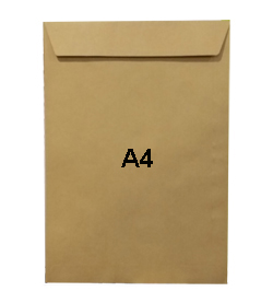 Hispapel A4 Manila Envelopes 120gsm
