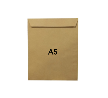 Hispapel A5 Manila Envelopes 120gsm